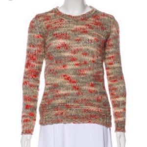 Theory l Wool Blend Speckled Sweater